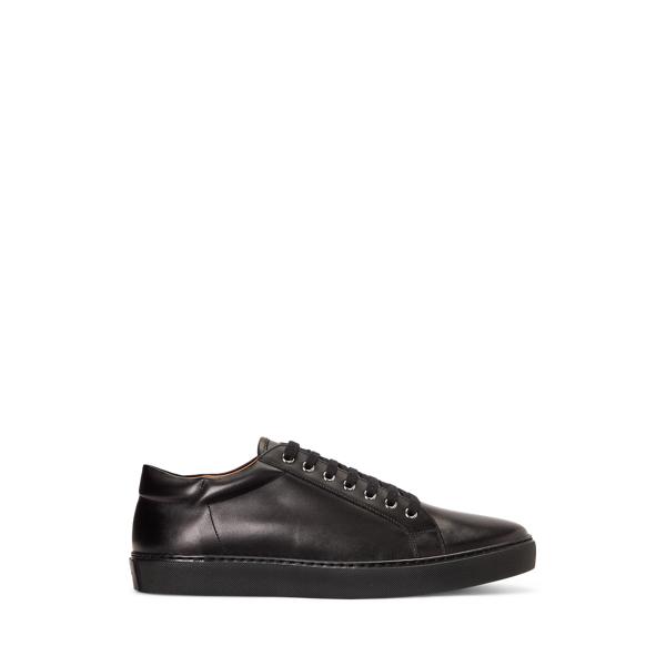 Purple Label Severn Calfskin Sneaker In Black