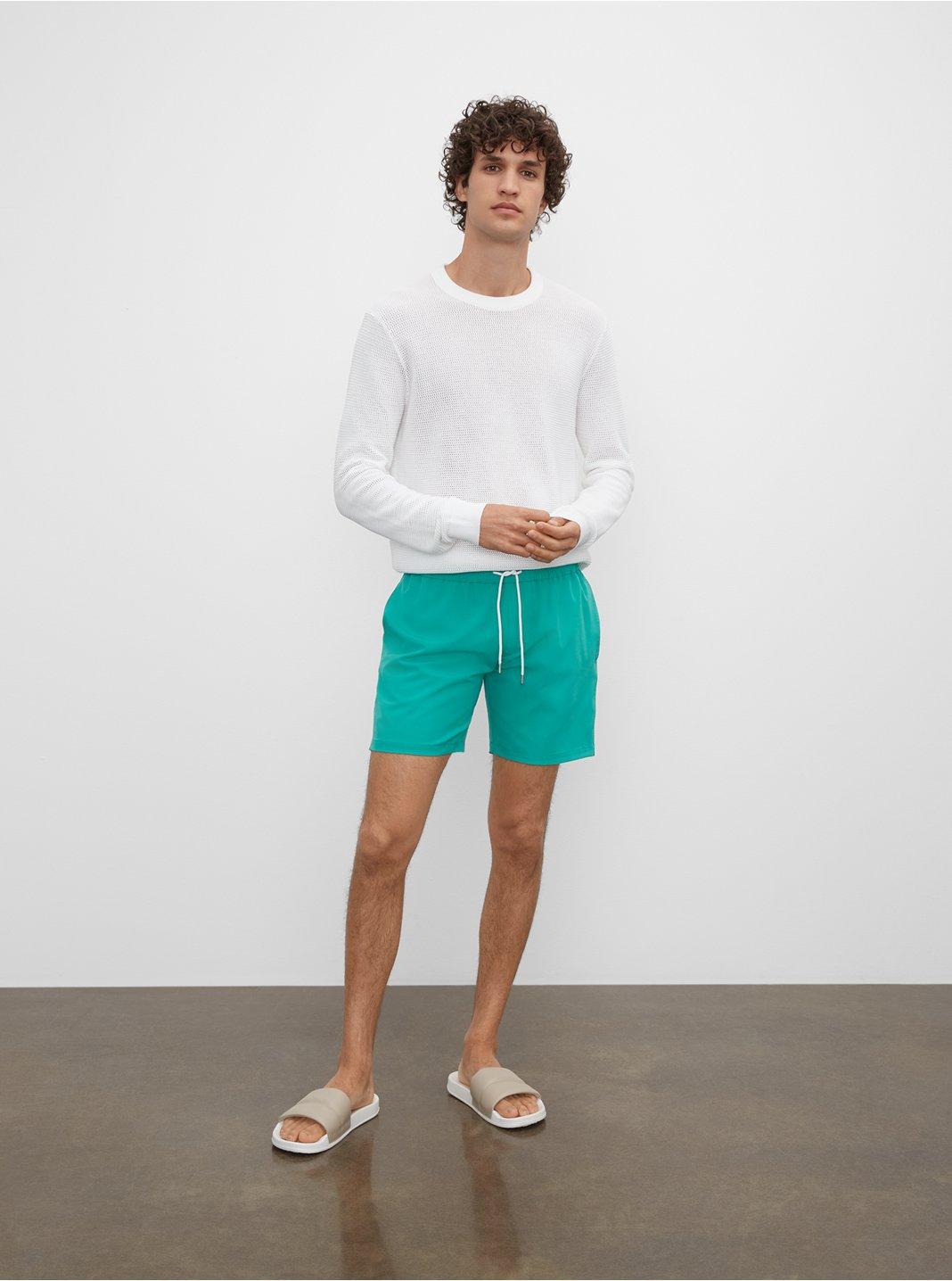 클럽 모나코 수영복 반바지 Club Monaco Bo Swim Shorts,Green