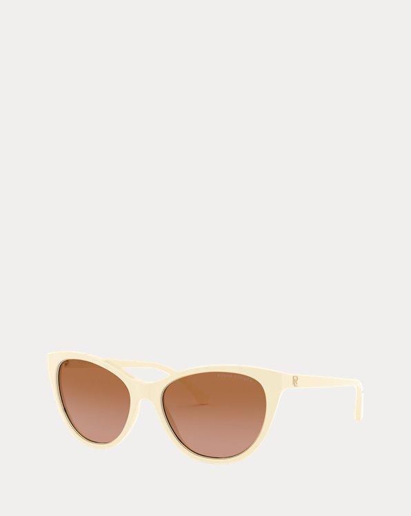 Logo Cat-Eye Sunglasses