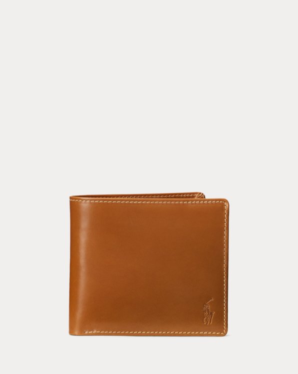Saddle Leather Billfold Wallet