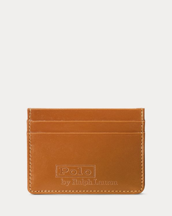 Saddle Leather Card Case