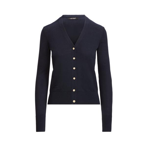 Lauren Cotton Blend Cardigan Sweater