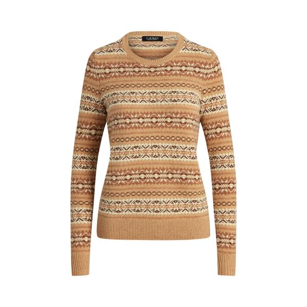 Lauren Fair Isle Wool Blend Sweater