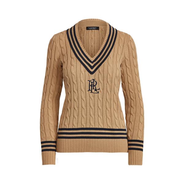 Lauren Logo Cricket Sweater