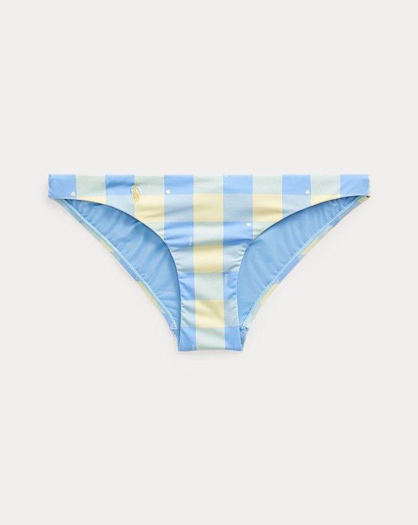 Plaid Hipster Bikini Bottom