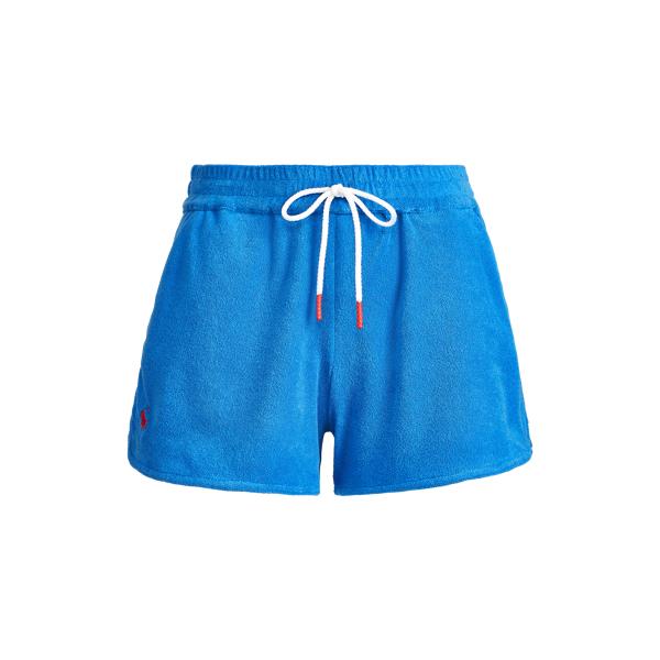 Ralph Lauren French Terry Short In Blue