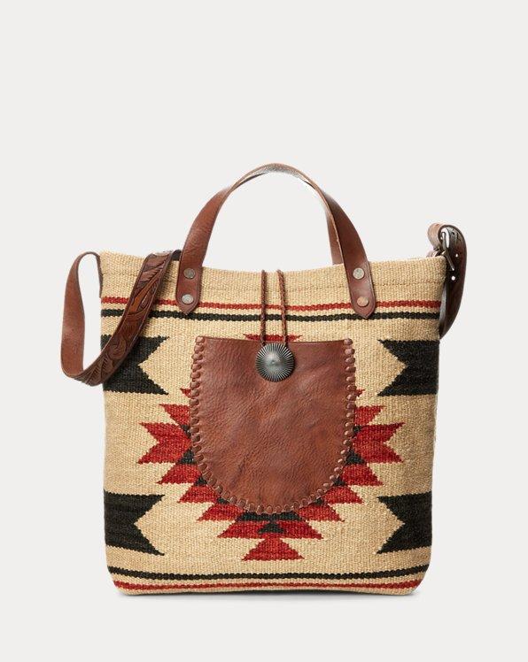 Handwoven Jacquard Bag