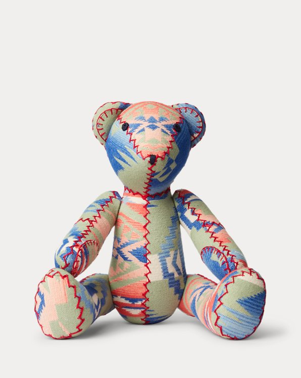 Limited-Edition Patchwork Bear