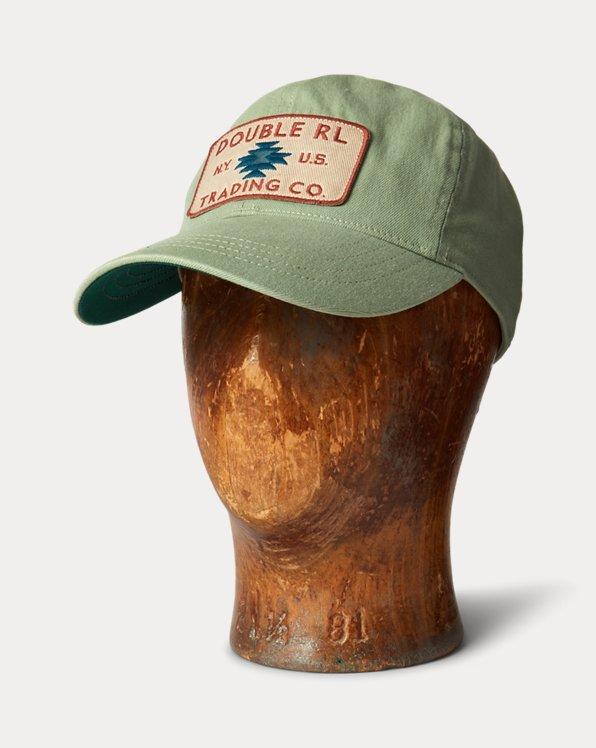 Logo-Patch Denim Trucker Cap