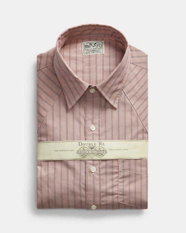 Slim Fit Striped Western Shirt