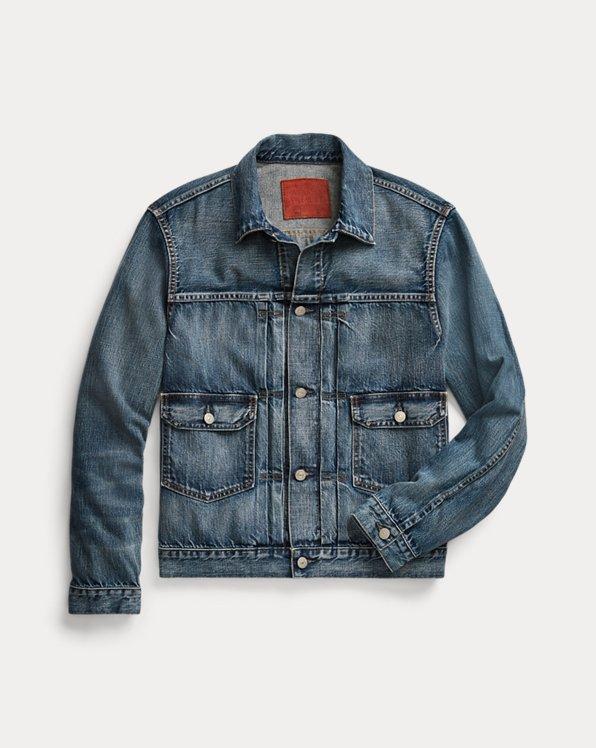 Indigo Denim Trucker Jacket