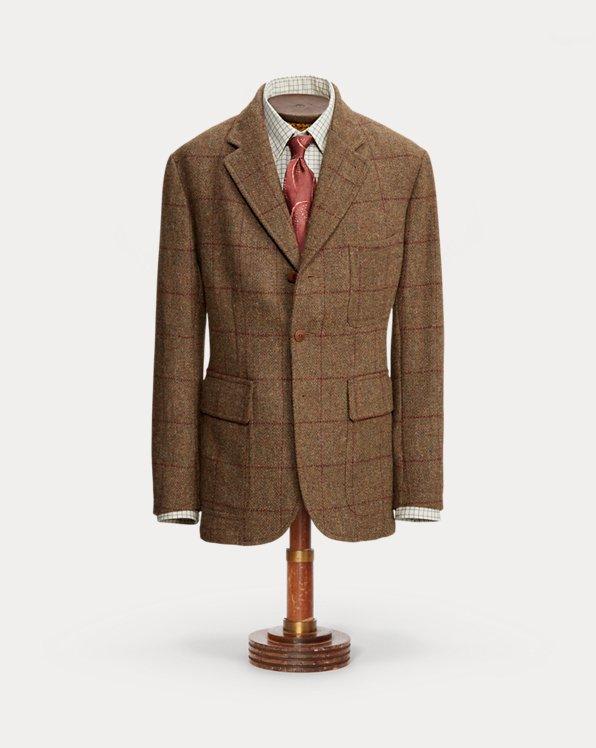 Checked Harris Tweed® Sport Coat