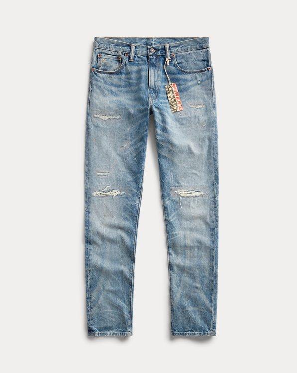 Slim Narrow Fit Hand-Repaired Jean
