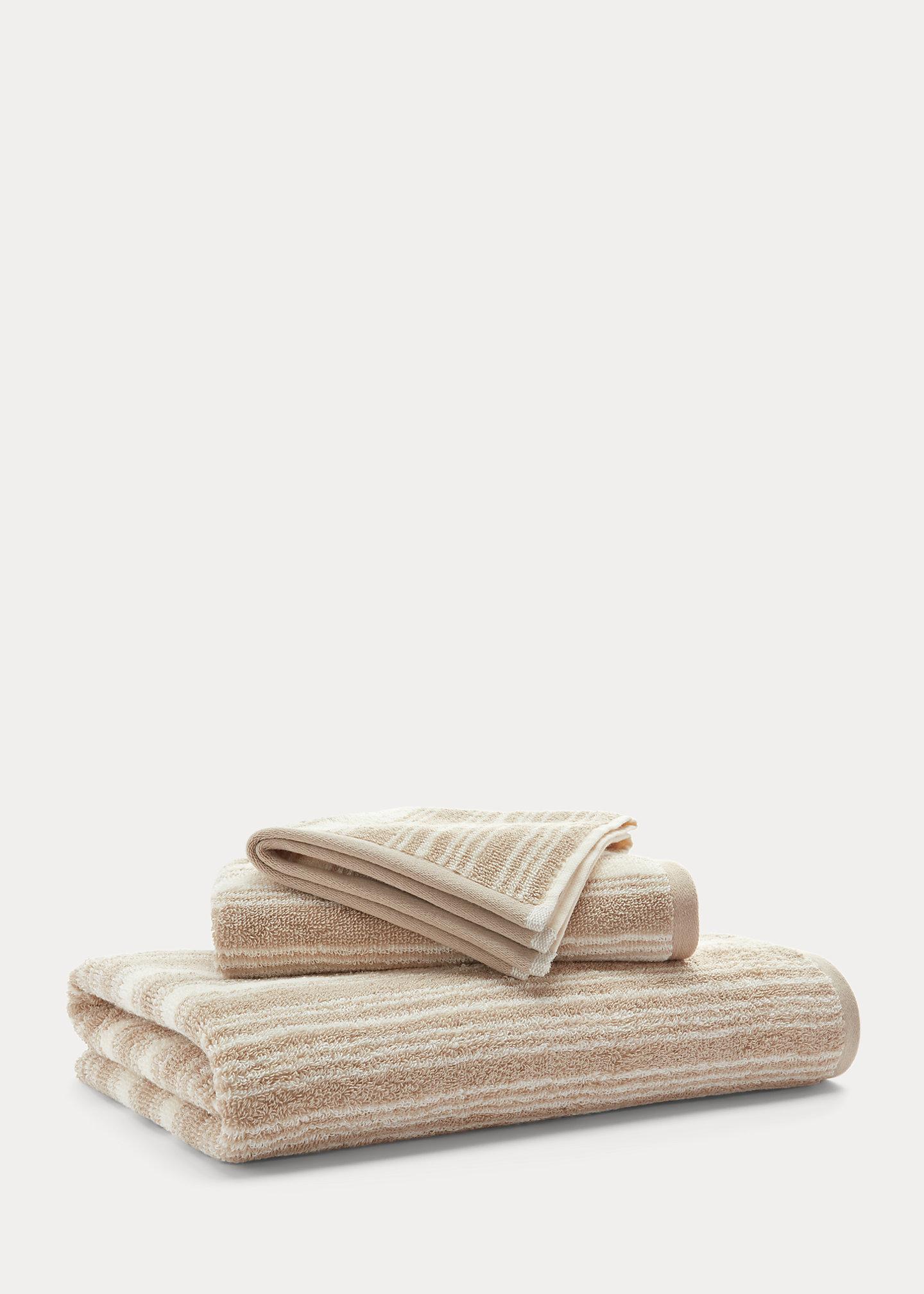 Lauren Home Sanders Striped Bath Towels