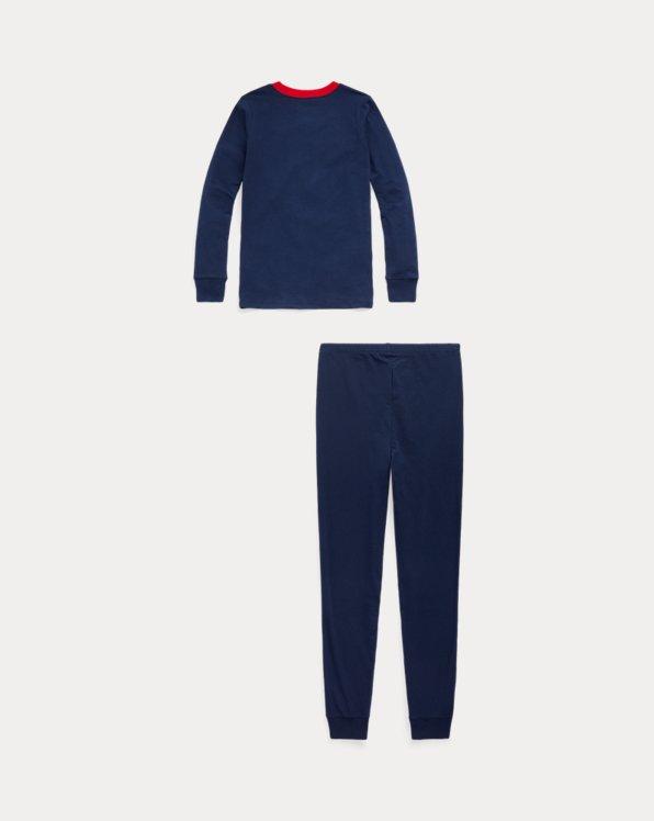 Stretch Jersey Sleep Set