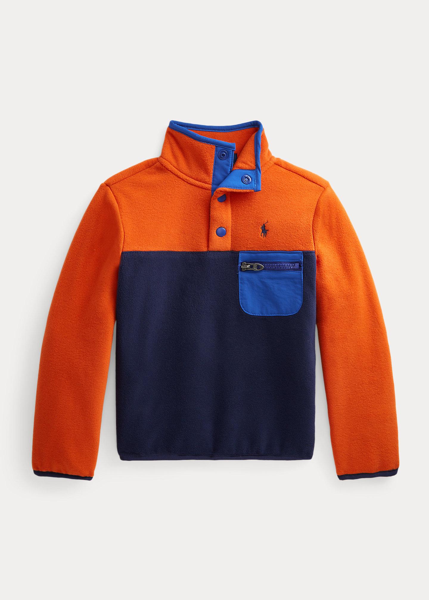 Polo Ralph Lauren Color Blocked Fleece Pullover