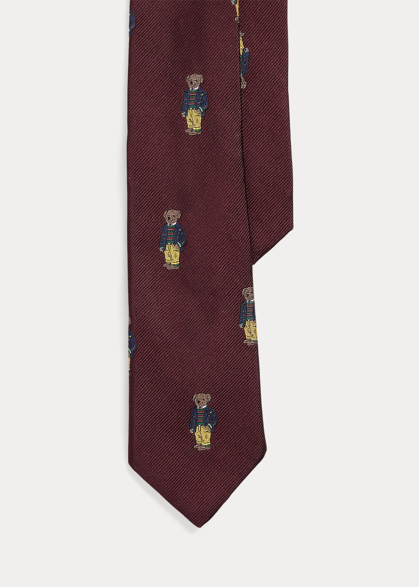 Polo Ralph Lauren Polo Bear Silk Tie