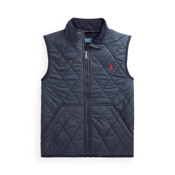 폴로 랄프로렌 Polo Ralph Lauren Quilted Water Repellent Vest,College Navy