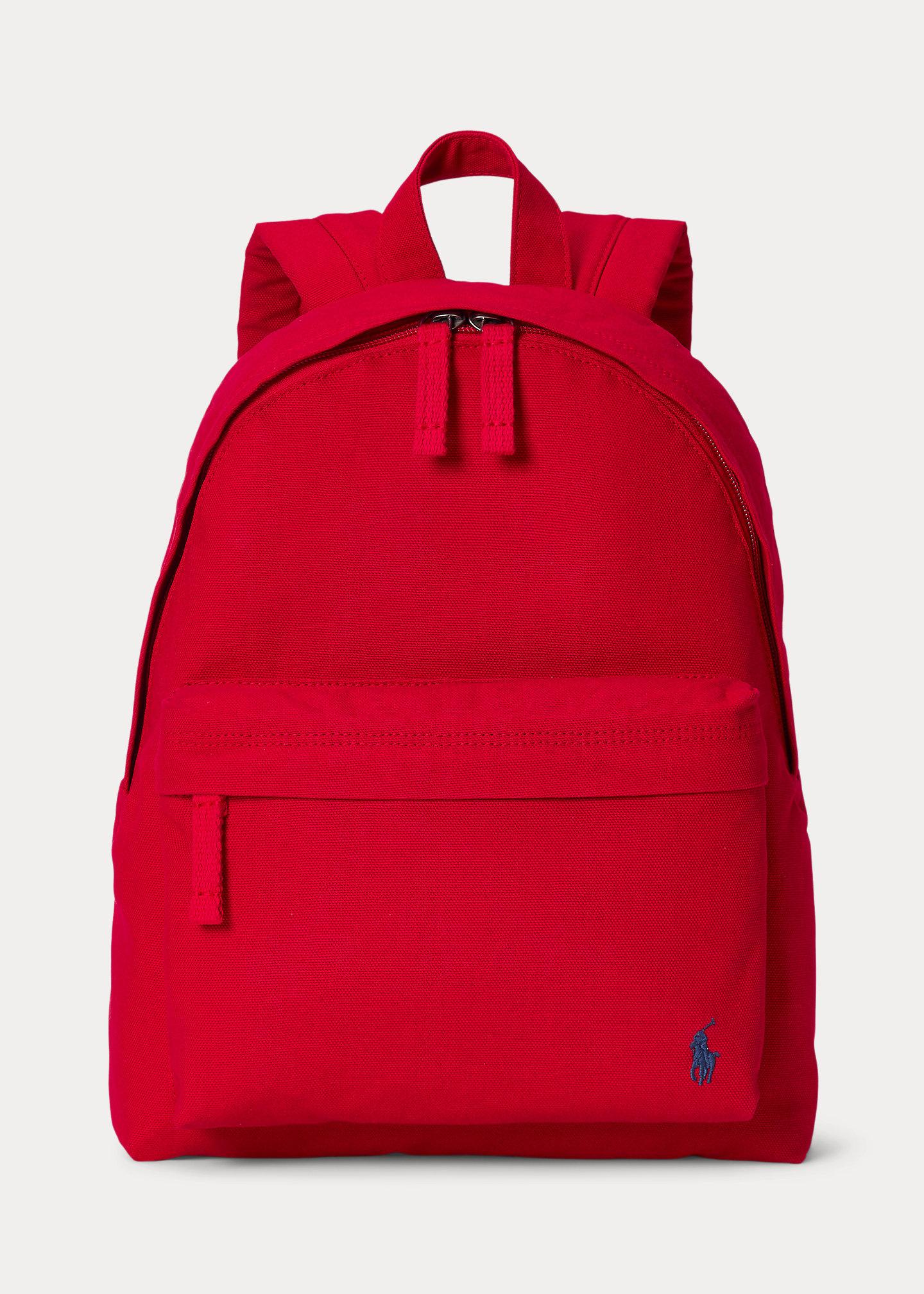 Polo Ralph Lauren Big Pony Canvas Backpack