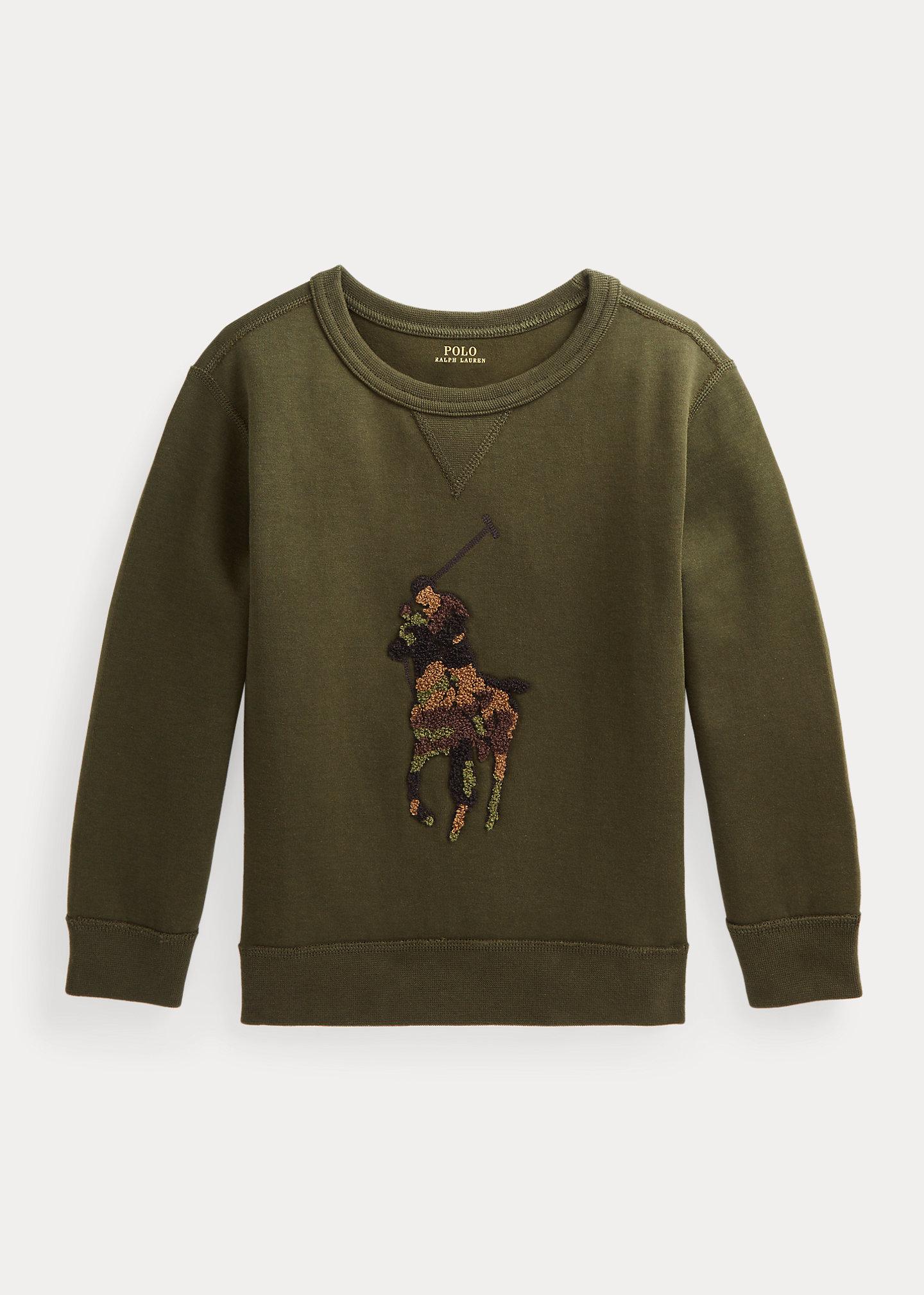 Polo Ralph Lauren Big Pony Double Knit Sweatshirt