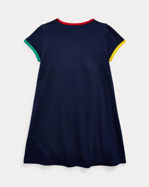 Logo Cotton Jersey Tee Dress