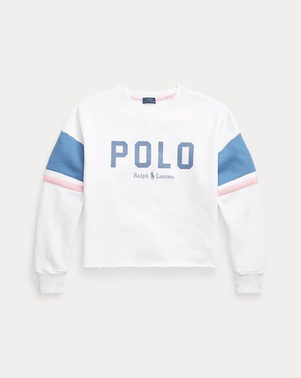 Logo Fleece Cropped Sweatshirt