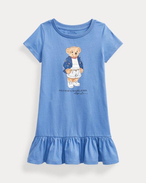 Abito maglietta Polo Bear in jersey