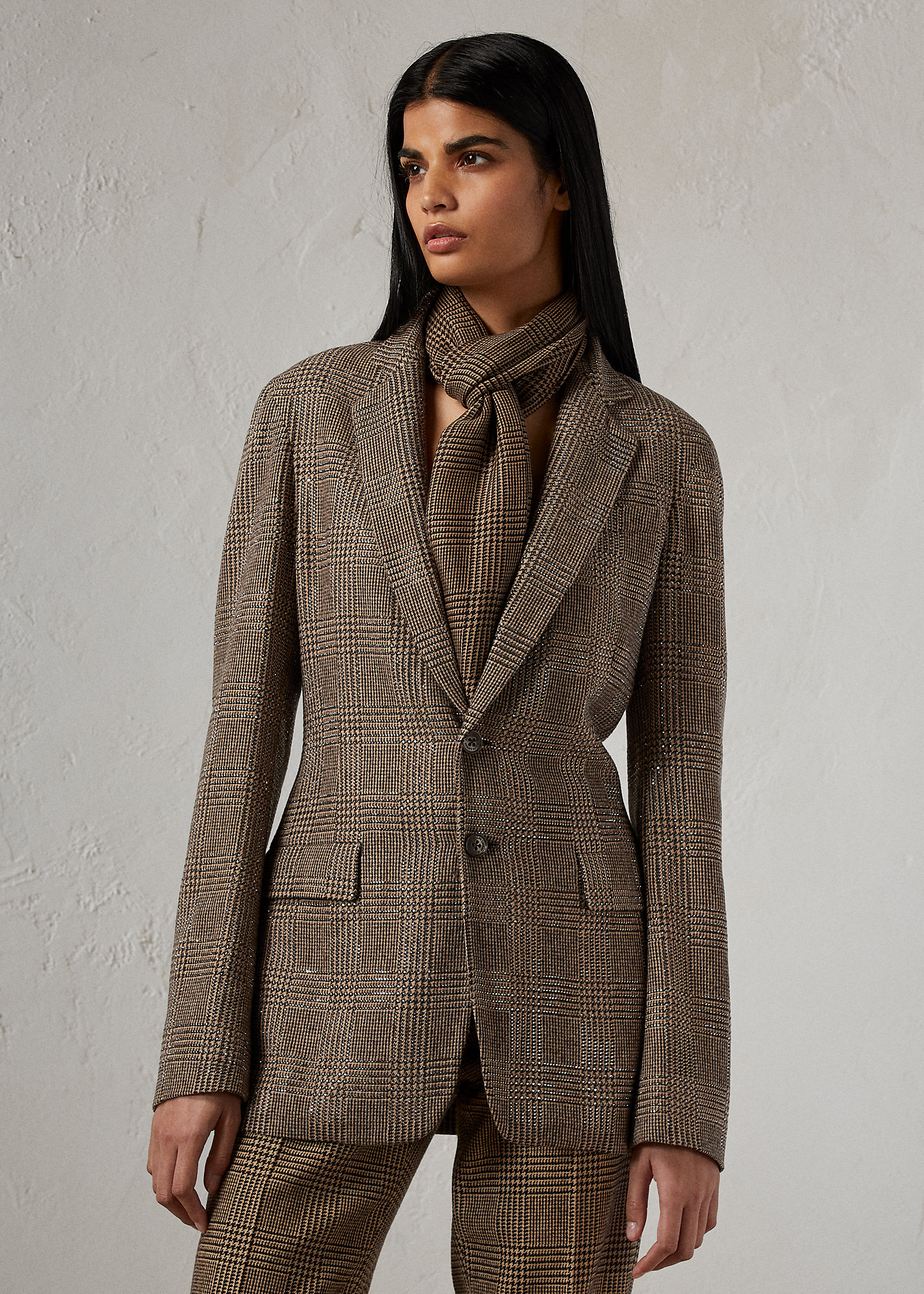 Ralph Lauren Collection Randall Embellished Wool-Blend Jacket 1