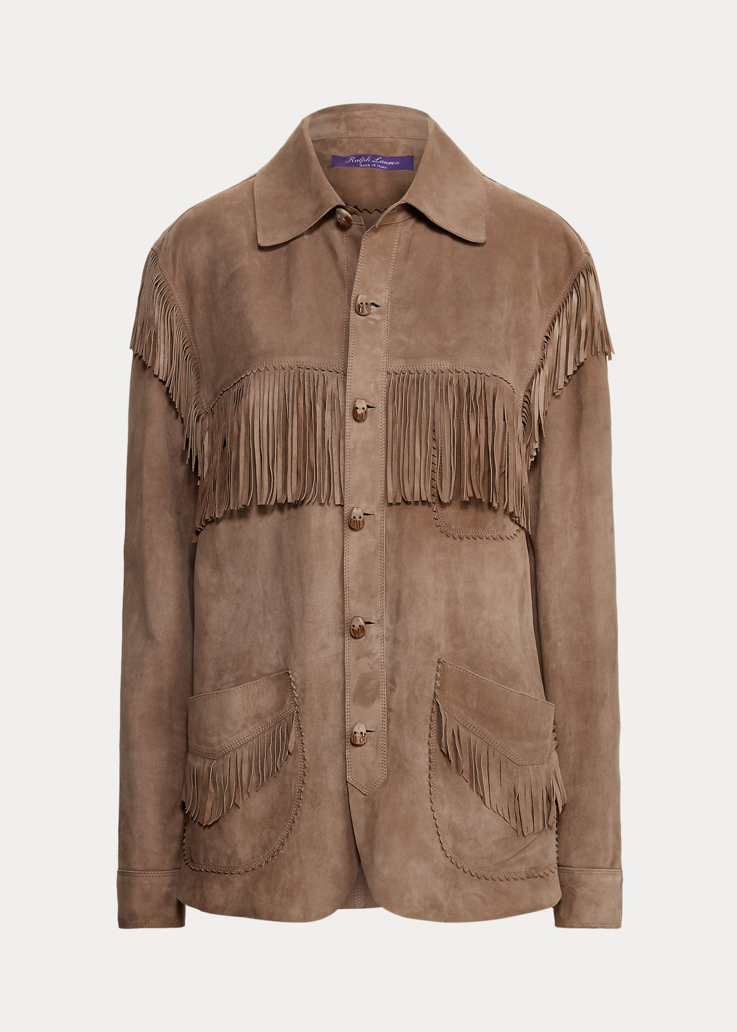 Ralph Lauren Collection Dasha Lamb-Suede Shirt Jacket 2