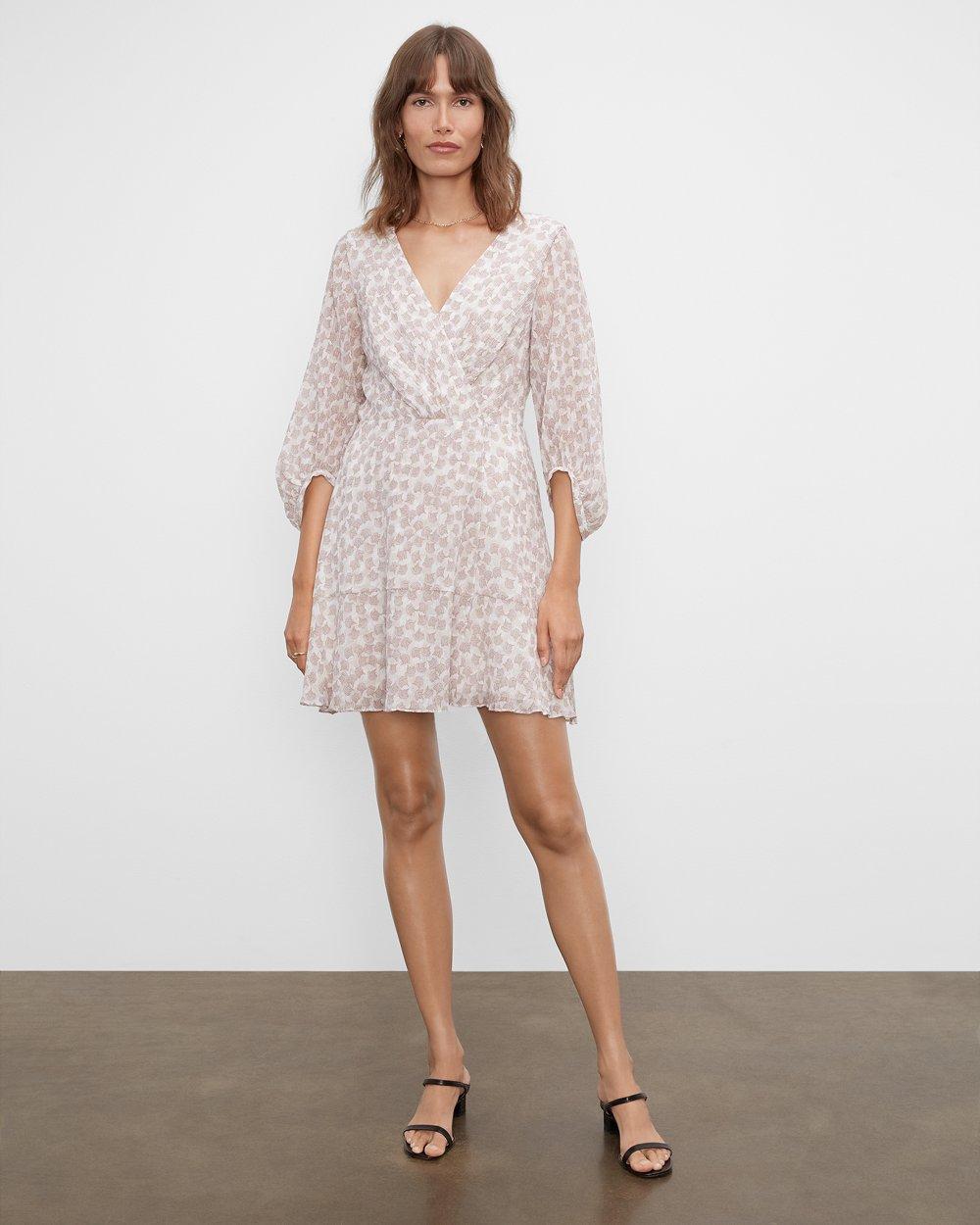 Clubmonaco Short Wrap Mini Dress