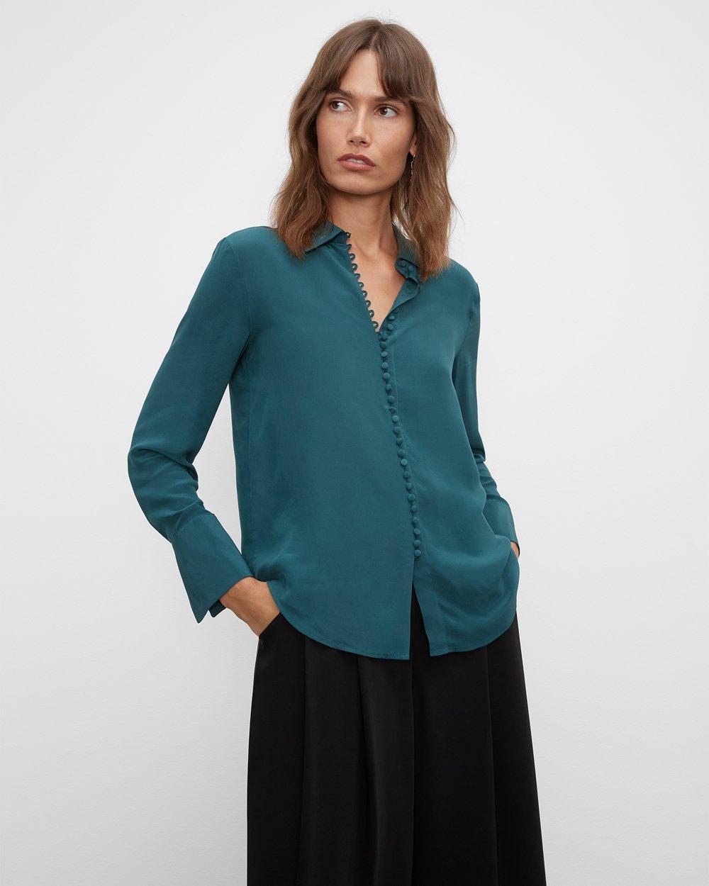 Clubmonaco Helek Silk Shirt