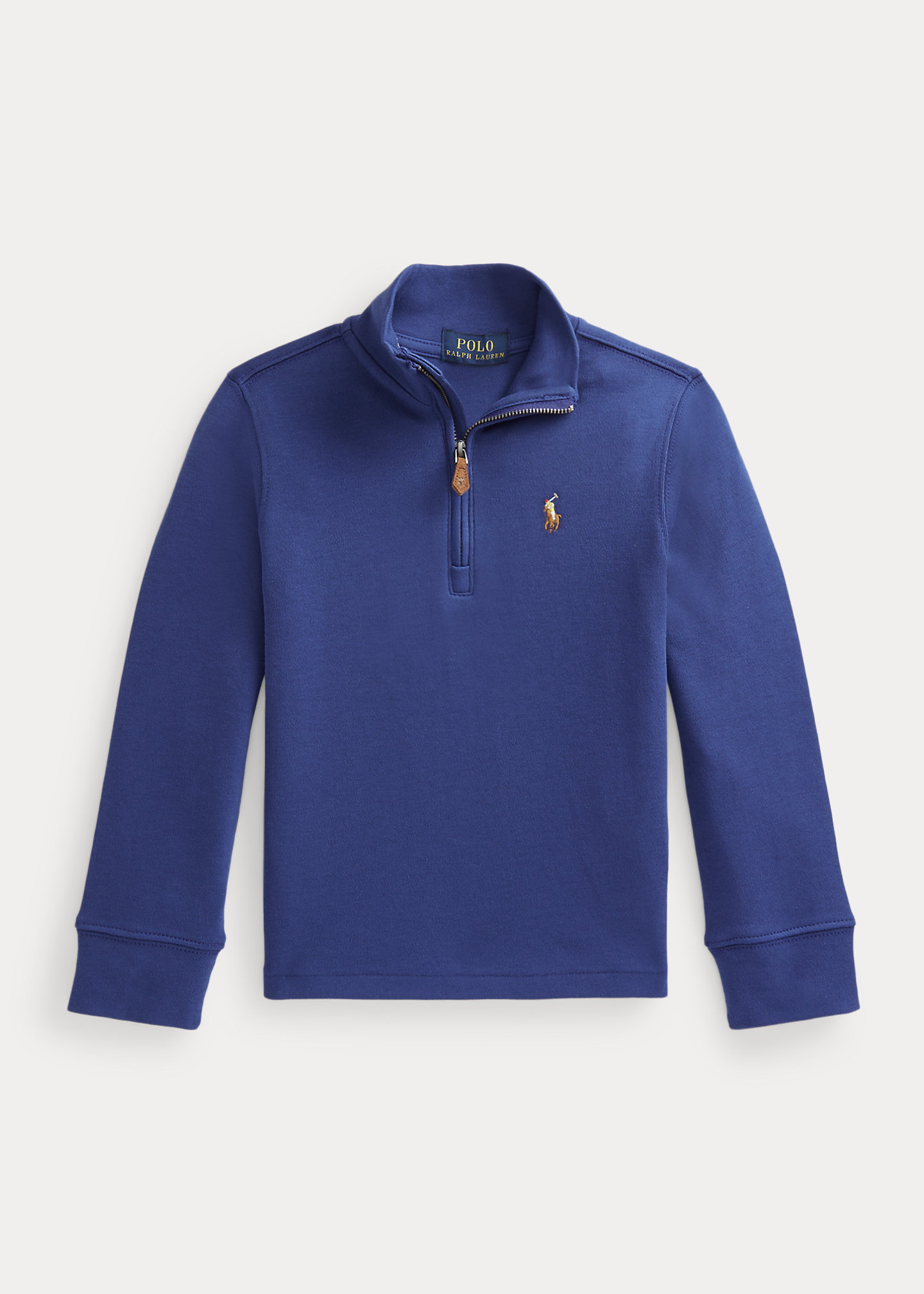 Polo Ralph Lauren Cotton Interlock Quarter Zip Pullover