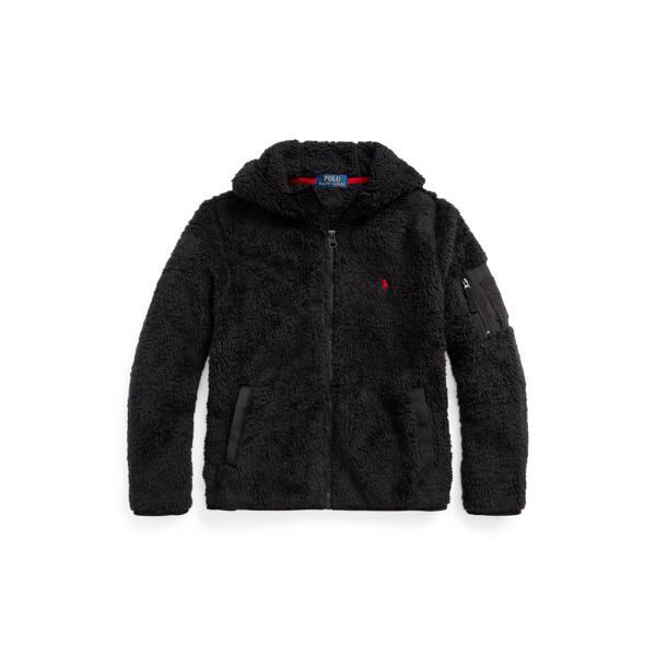 폴로 랄프로렌 Polo Ralph Lauren Fleece Hooded Jacket,Polo Black