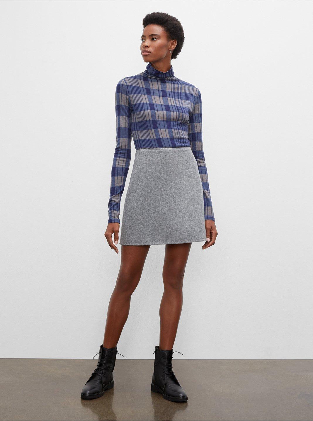 클럽 모나코 미니 스커트 Club Monaco Centie Mini Skirt,Basic Grey