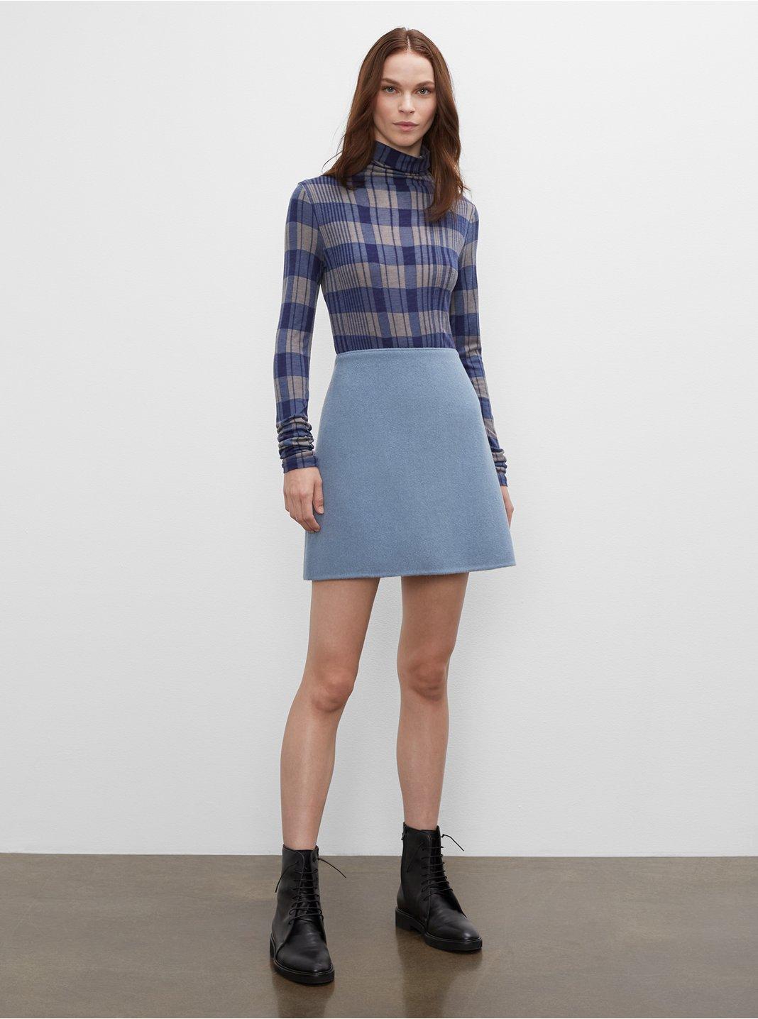 클럽 모나코 미니 스커트 Club Monaco Centie Mini Skirt,Blue