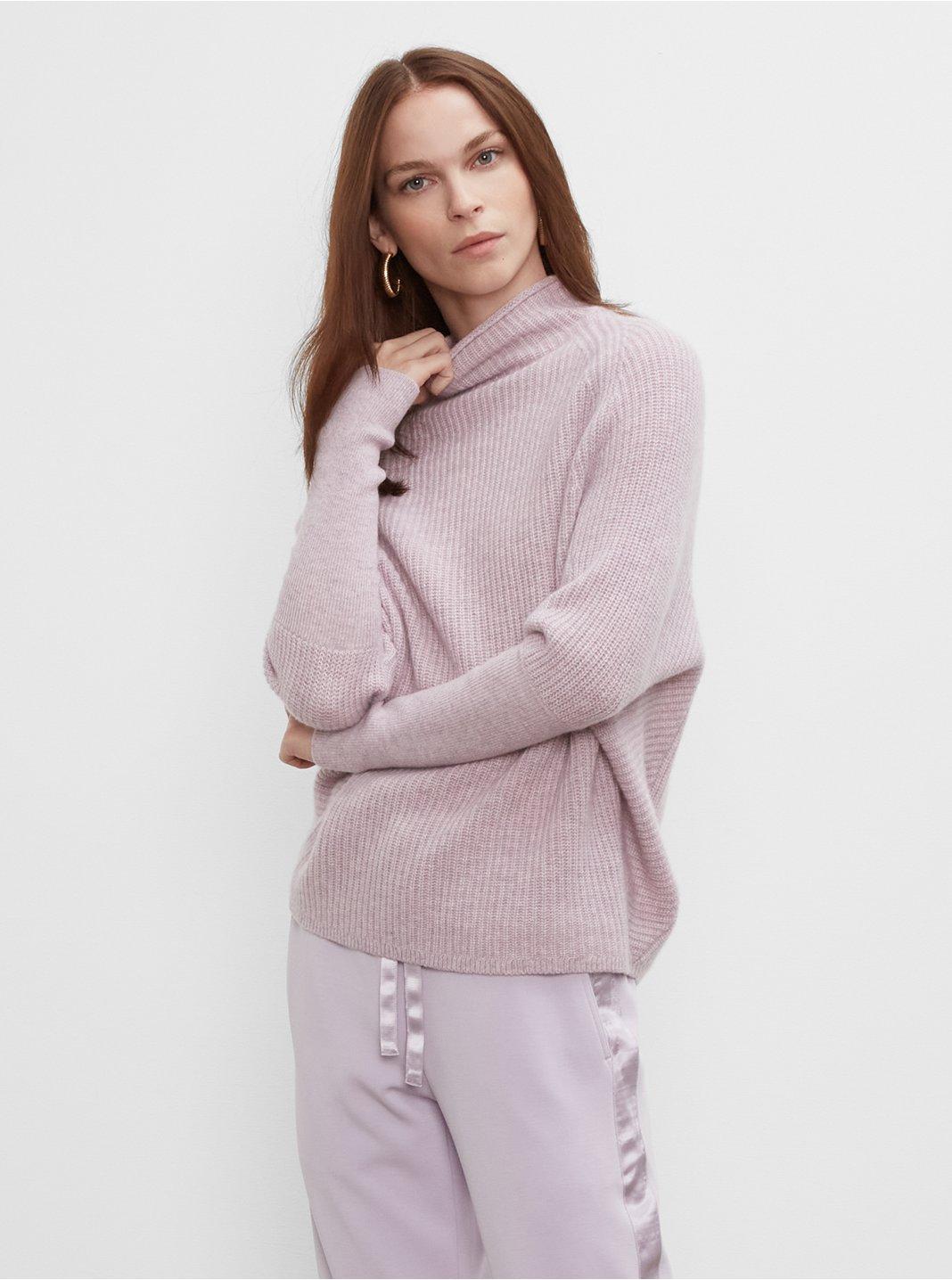 클럽 모나코 우먼 스웨터 Club Monaco Emma Cashmere Sweater,Pink Mu