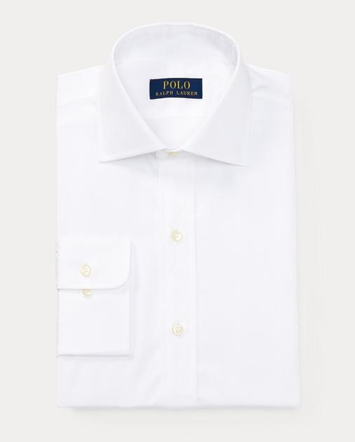 ad4e804a64 Solid Poplin Regent Shirt | Standard Fit Dress Shirts | Ralph Lauren