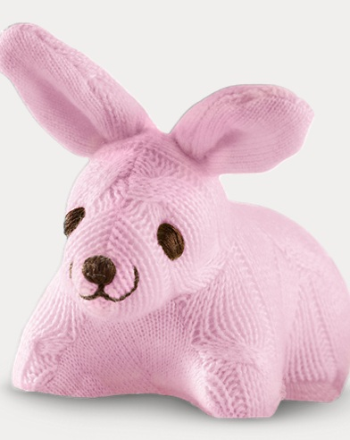 Cashmere Bunny Rattle