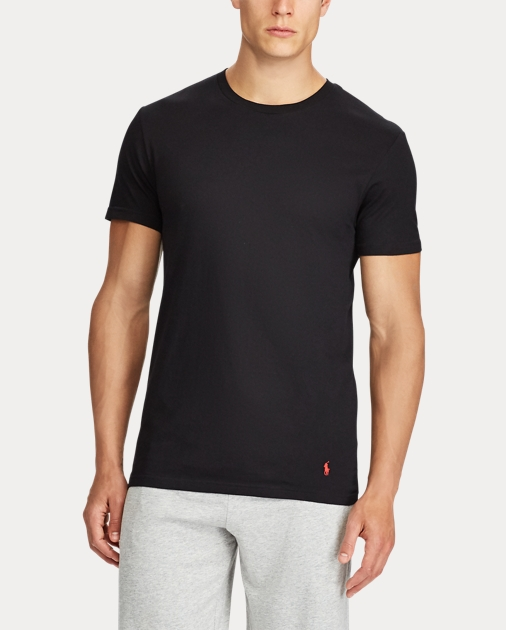 e5434fba4f Men's Classic Crew T-Shirt & Undershirt   3-Pack   Ralph Lauren