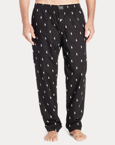 Allover Pony Pajama Pant