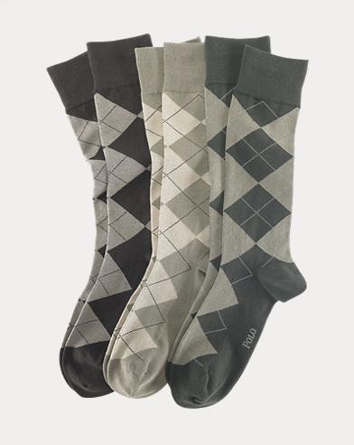 Argyle Dress Sock 3-Pack