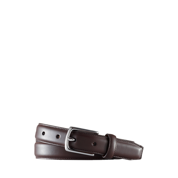 폴로 랄프로렌 보이즈 벨트 Polo Ralph Lauren Calfskin Belt,Brown