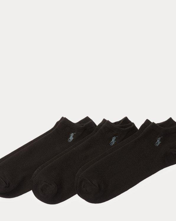 Low-Cut Cotton Sock 3-Pack