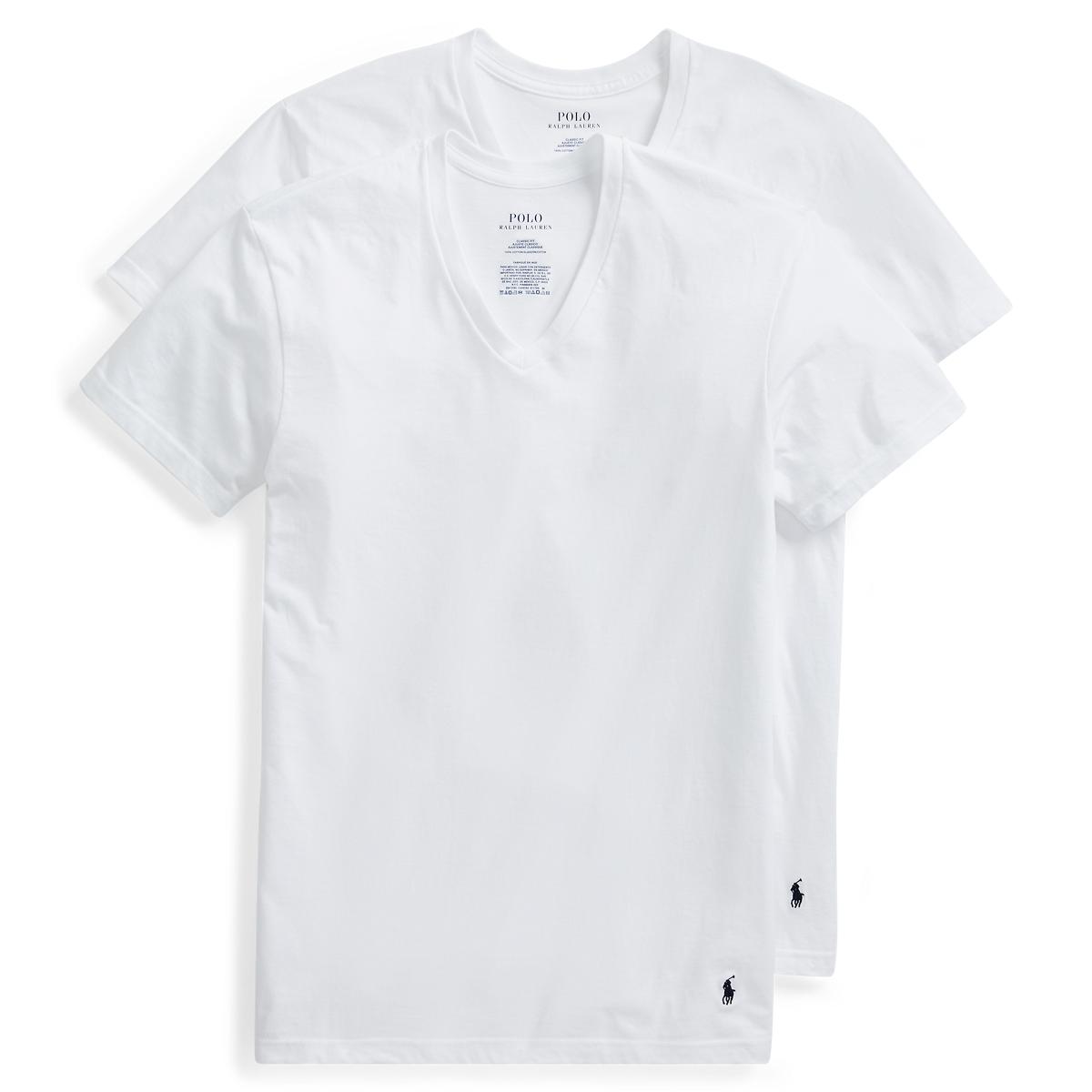 2ec851f6f76e Tall Classic V-Neck 2-Pack | Undershirts Underwear & Loungewear | Ralph  Lauren