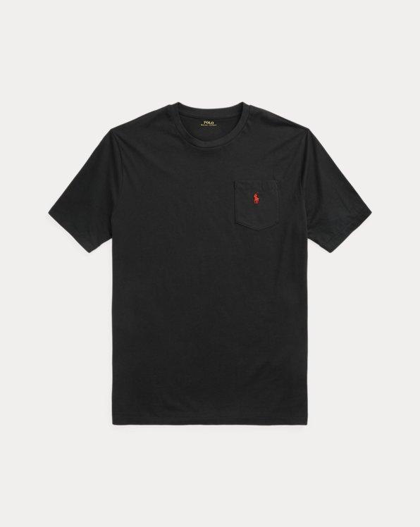 Cotton Jersey Pocket T-Shirt