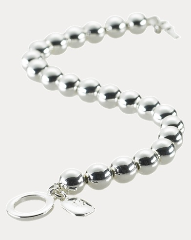 Silver-Plated Ball Bracelet