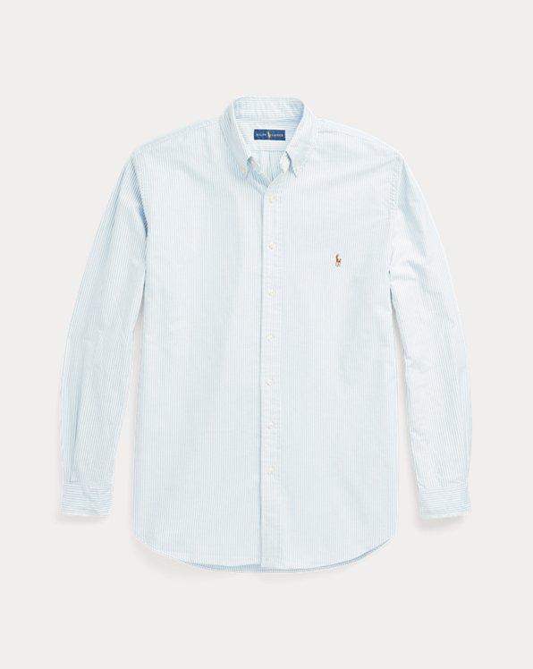 Chemise rayée coupe classique