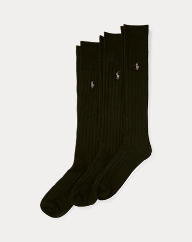 Mercerized Slack Sock 3-Pack