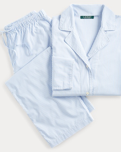 Bengal-Stripe Pajama Set