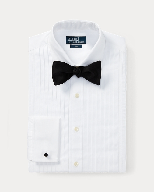 Formal Estate Tuxedo Shirt Standard Fit Dress Shirts Ralph Lauren